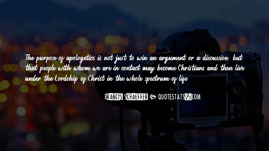 Quotes About A Life Of Purpose #177140