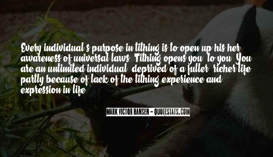 Quotes About A Life Of Purpose #214968