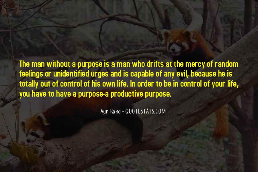 Quotes About A Life Of Purpose #53797