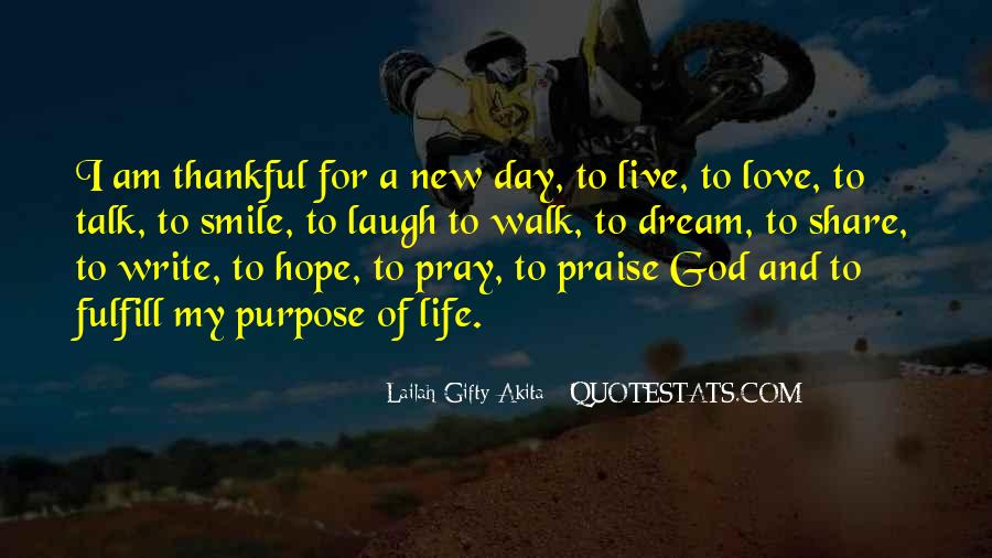 Quotes About A Life Of Purpose #54603