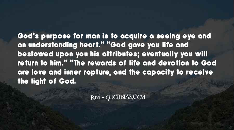 Quotes About A Life Of Purpose #70862