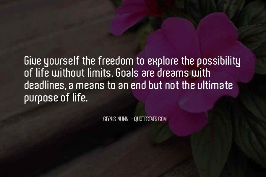 Quotes About A Life Of Purpose #78506