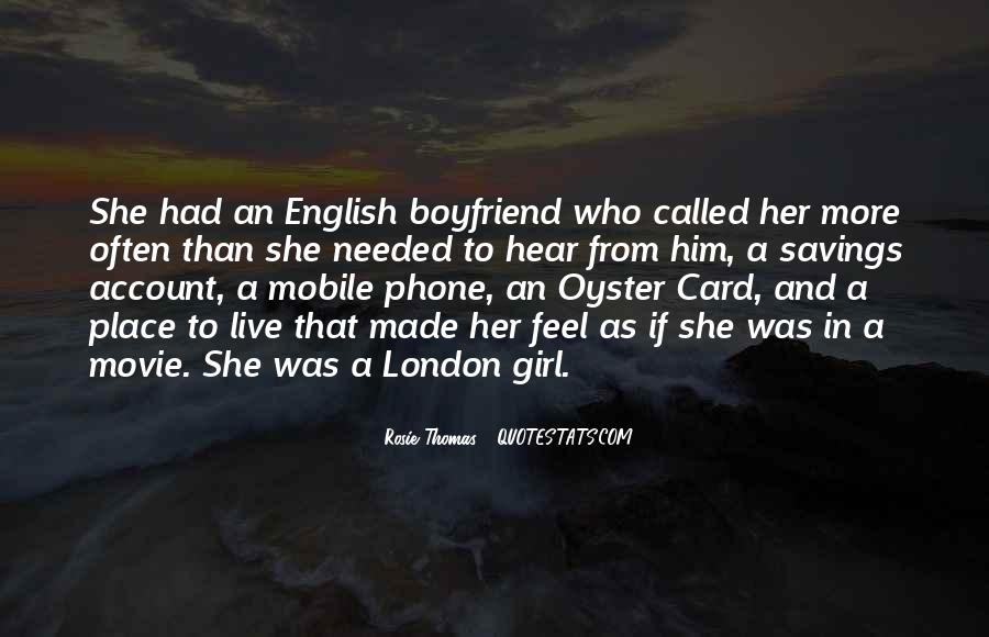So Called Boyfriend Quotes #125809