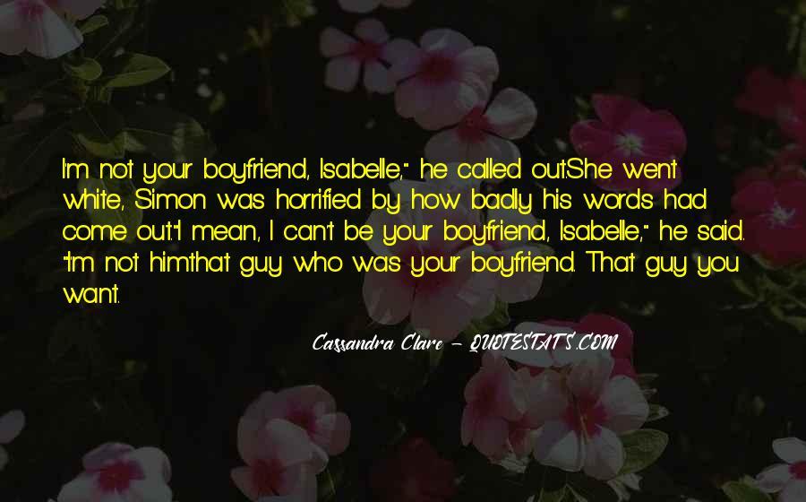 So Called Boyfriend Quotes #1581610