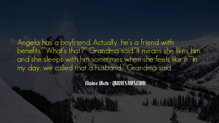 So Called Boyfriend Quotes #778426