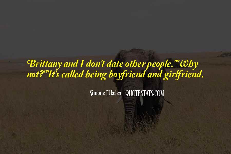 So Called Boyfriend Quotes #892790