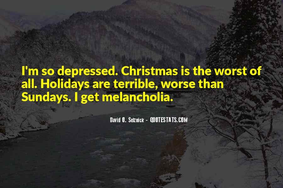 So Depressed Quotes #1002722