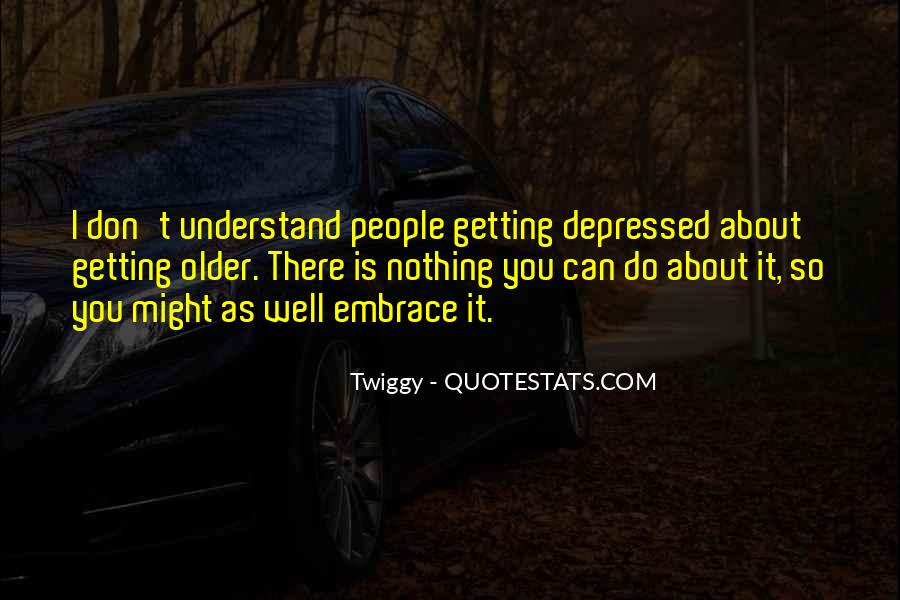 So Depressed Quotes #1056316