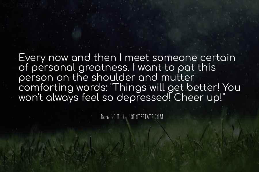 So Depressed Quotes #1081465