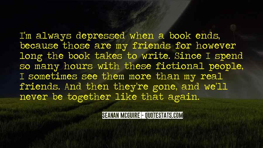 So Depressed Quotes #1175898