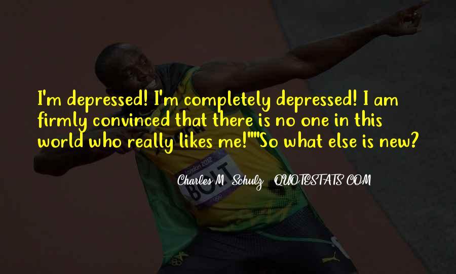 So Depressed Quotes #1181606