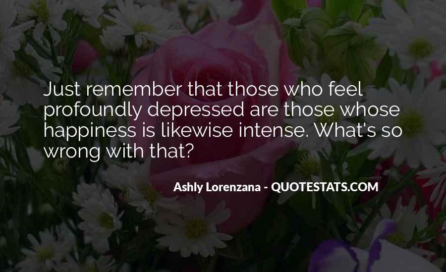So Depressed Quotes #1186651