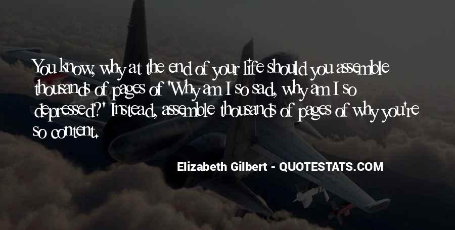 So Depressed Quotes #1228029