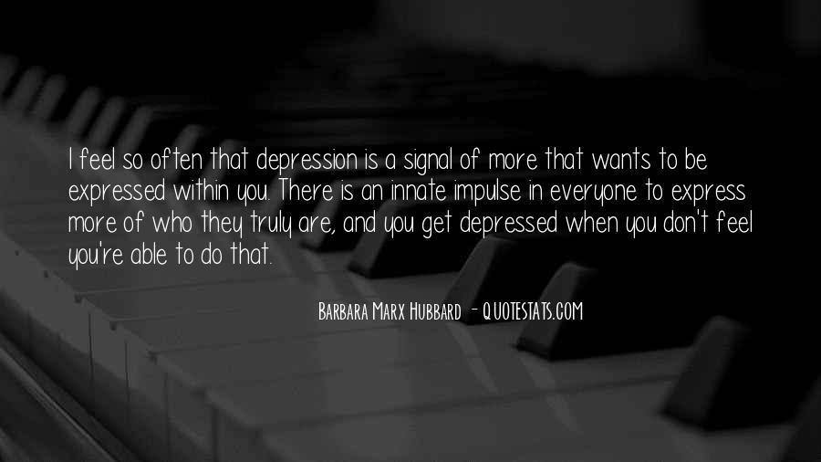 So Depressed Quotes #1236863