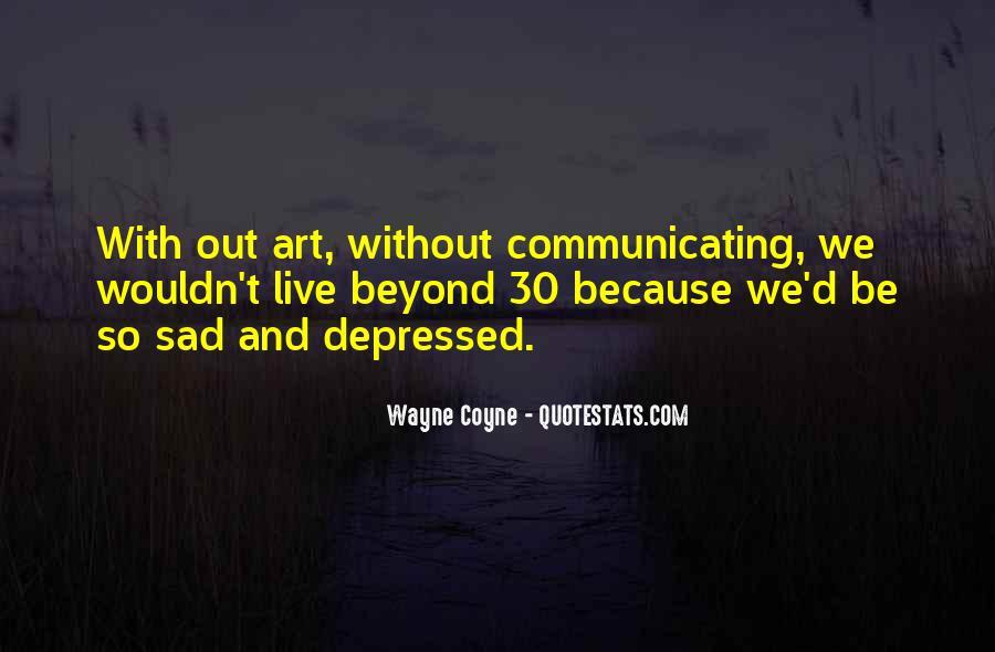 So Depressed Quotes #1241592