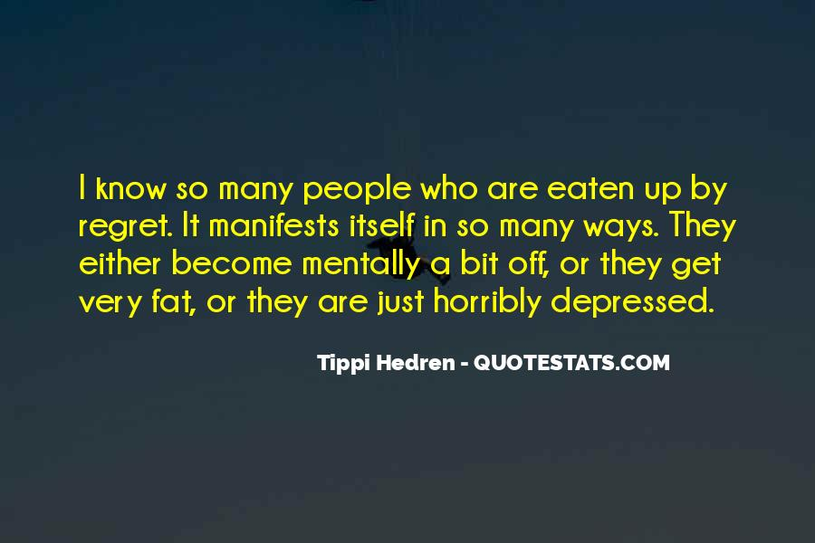 So Depressed Quotes #1291406