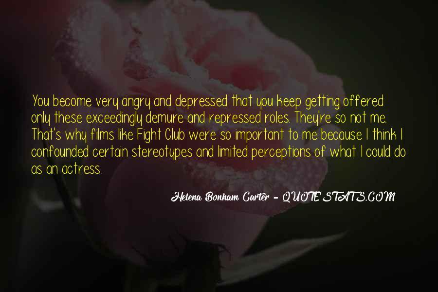 So Depressed Quotes #1297738