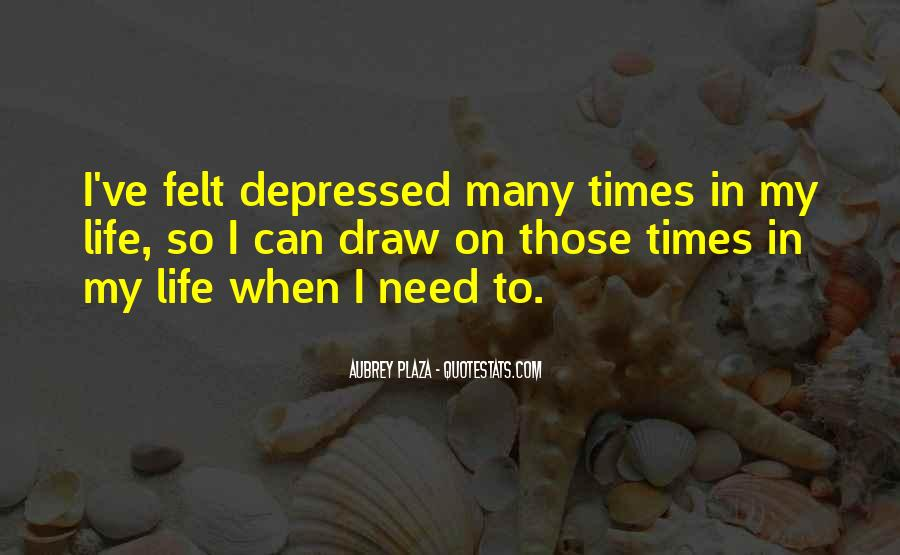 So Depressed Quotes #156408