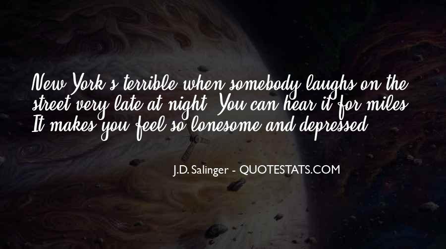 So Depressed Quotes #164309