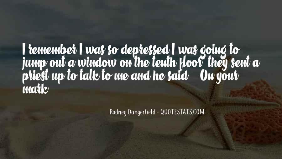 So Depressed Quotes #28967
