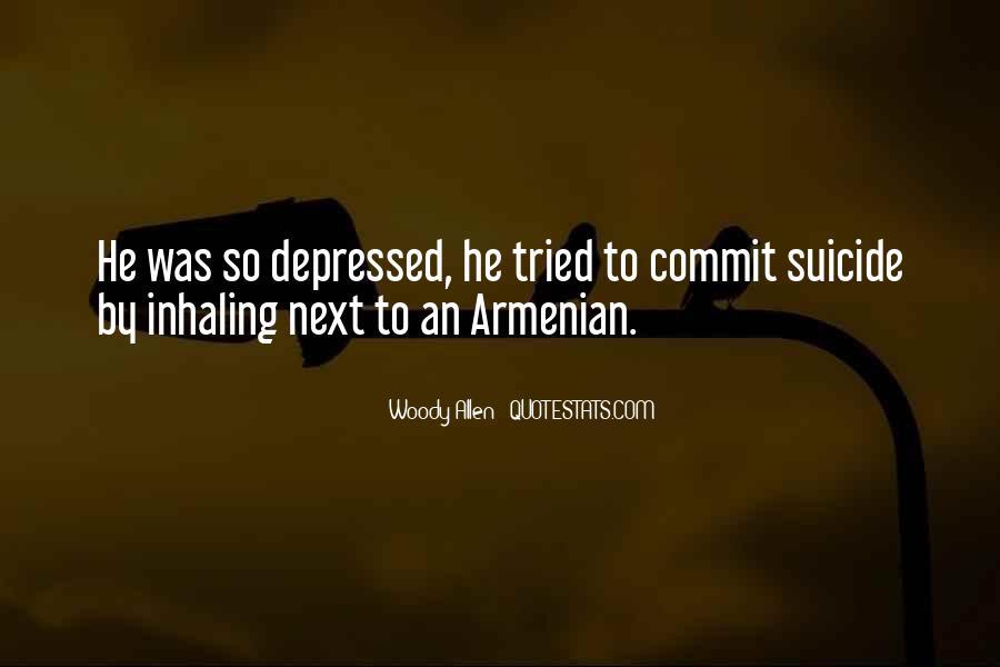 So Depressed Quotes #383511