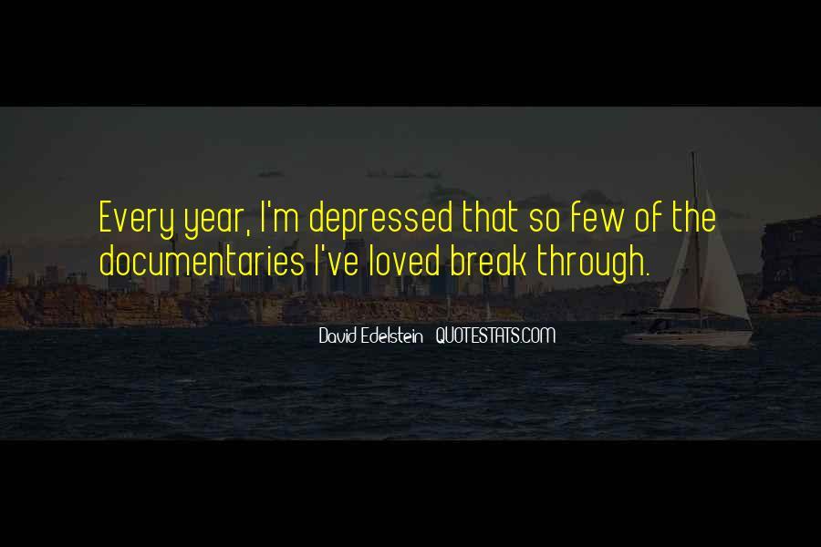 So Depressed Quotes #411918