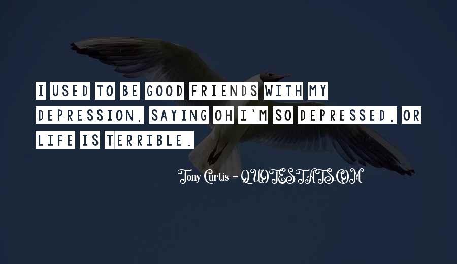 So Depressed Quotes #433181