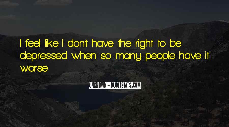 So Depressed Quotes #468540
