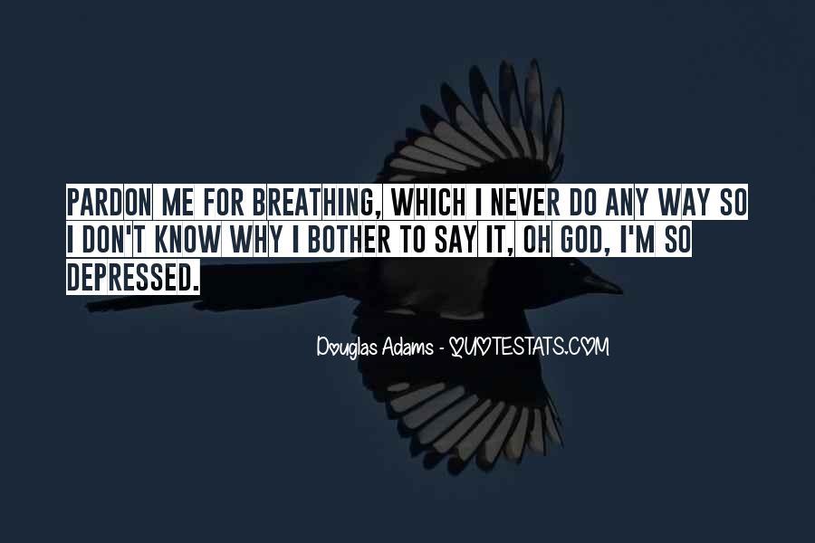 So Depressed Quotes #512151
