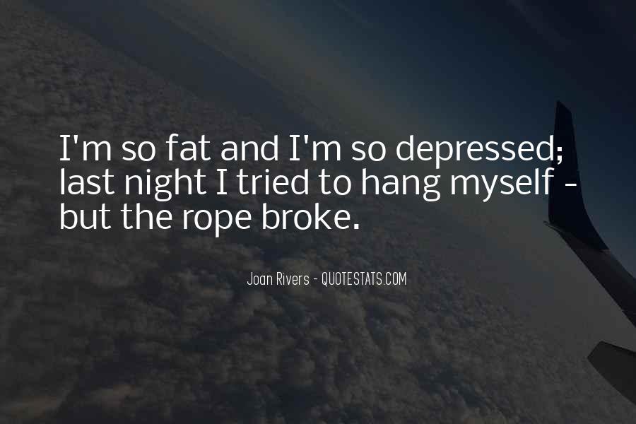 So Depressed Quotes #542569