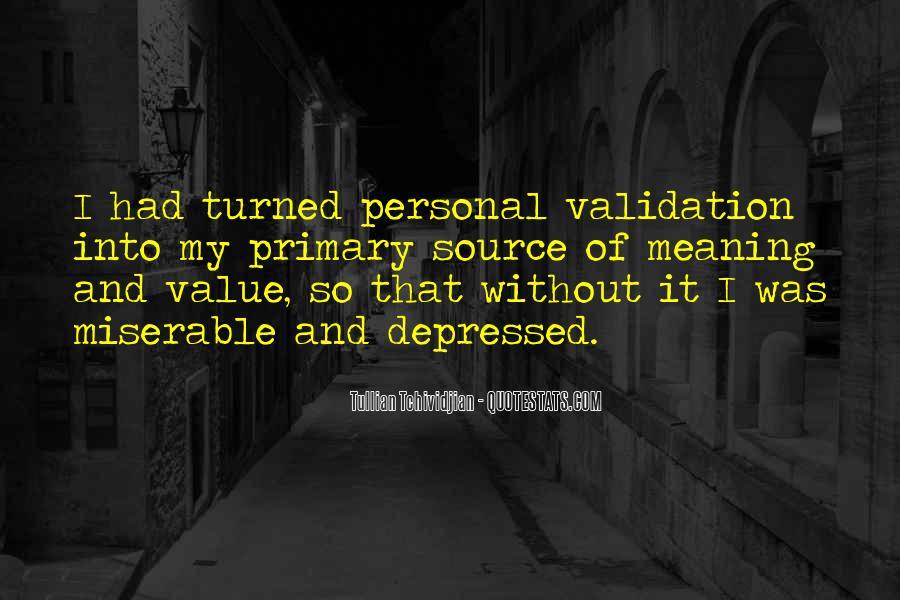 So Depressed Quotes #555704