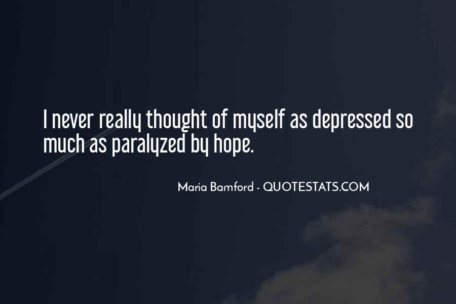 So Depressed Quotes #557809