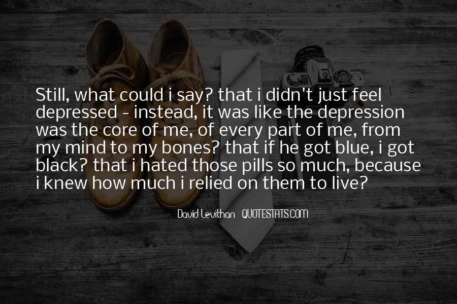 So Depressed Quotes #576569
