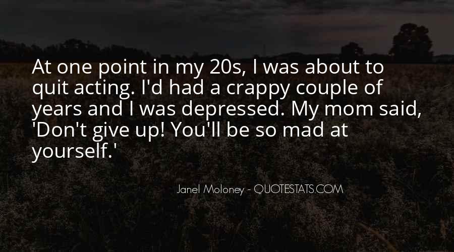So Depressed Quotes #580701