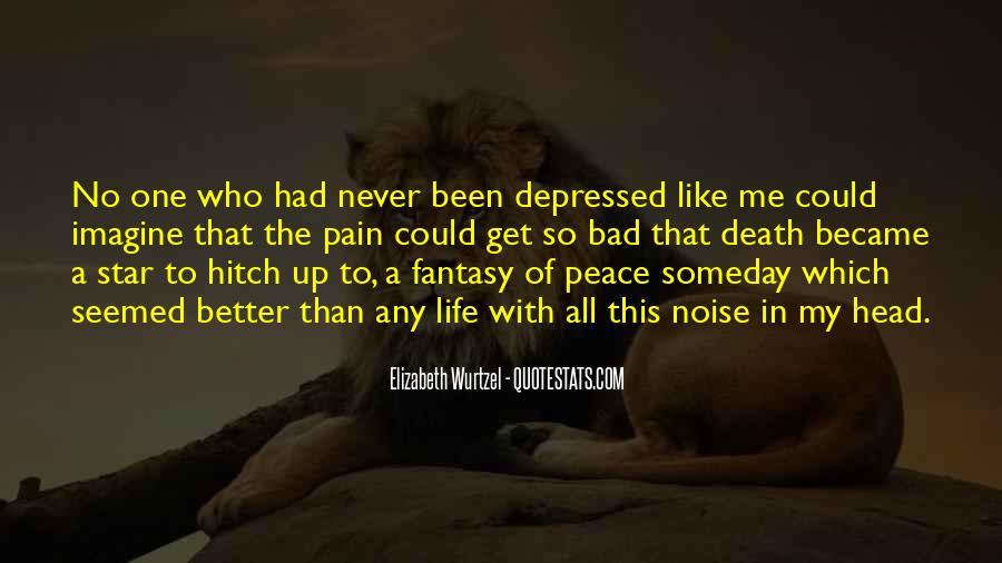 So Depressed Quotes #603230