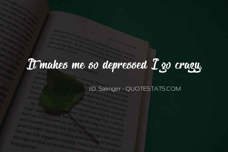 So Depressed Quotes #754219