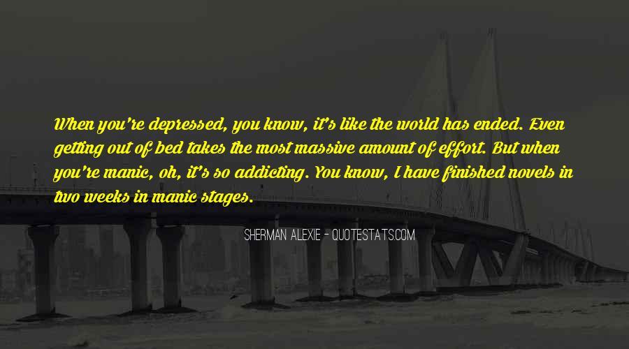 So Depressed Quotes #769702