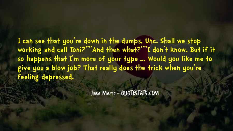So Depressed Quotes #807280