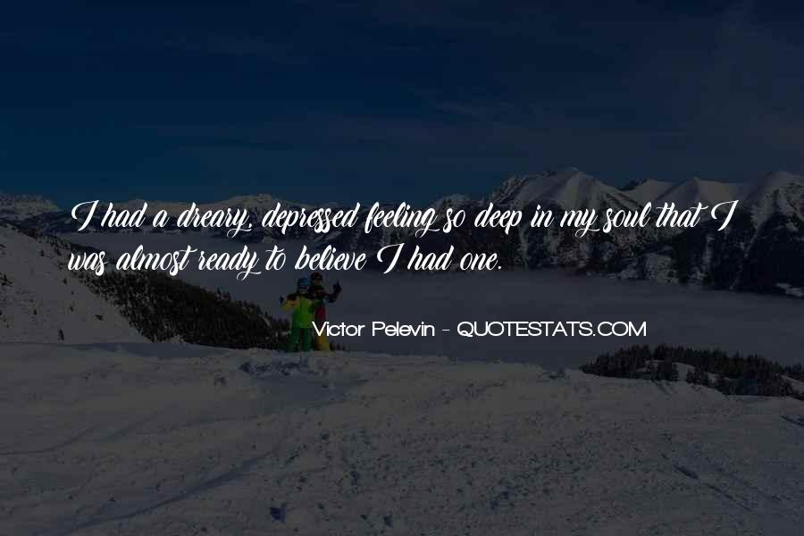 So Depressed Quotes #838951