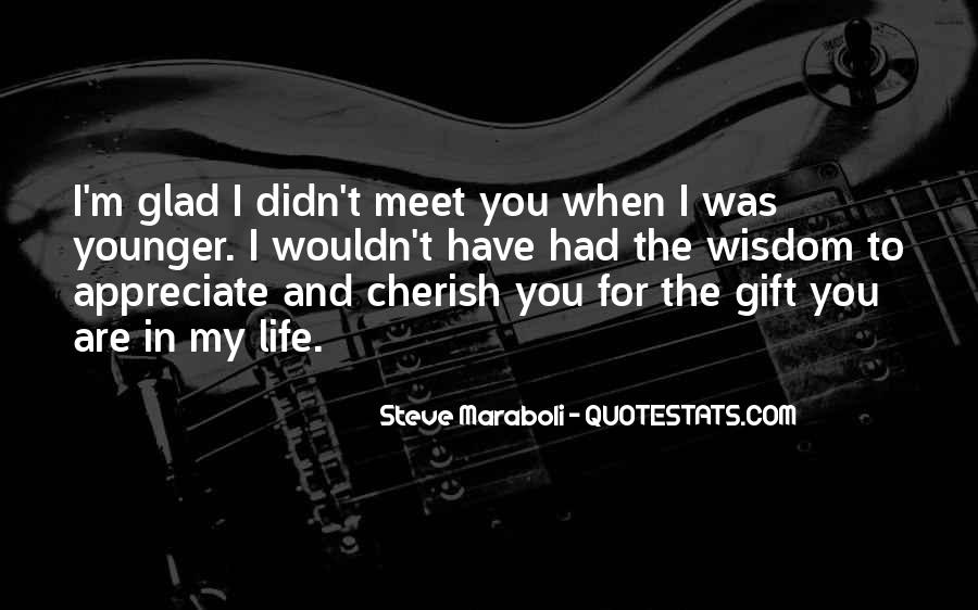 So Glad I Meet You Quotes #929968