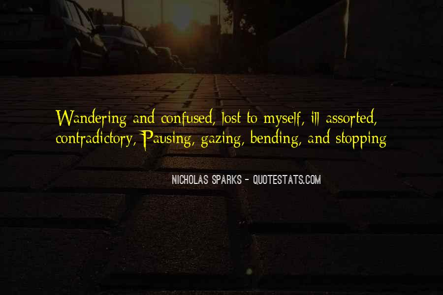 So Lost And Confused Quotes #1180685