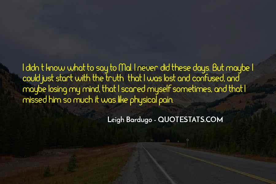 So Lost And Confused Quotes #747251