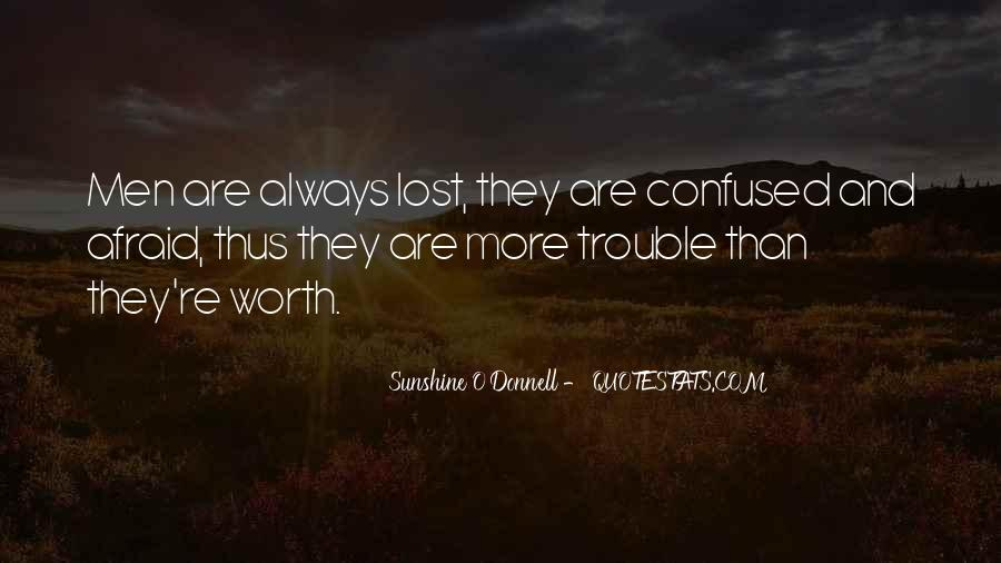 So Lost And Confused Quotes #793344