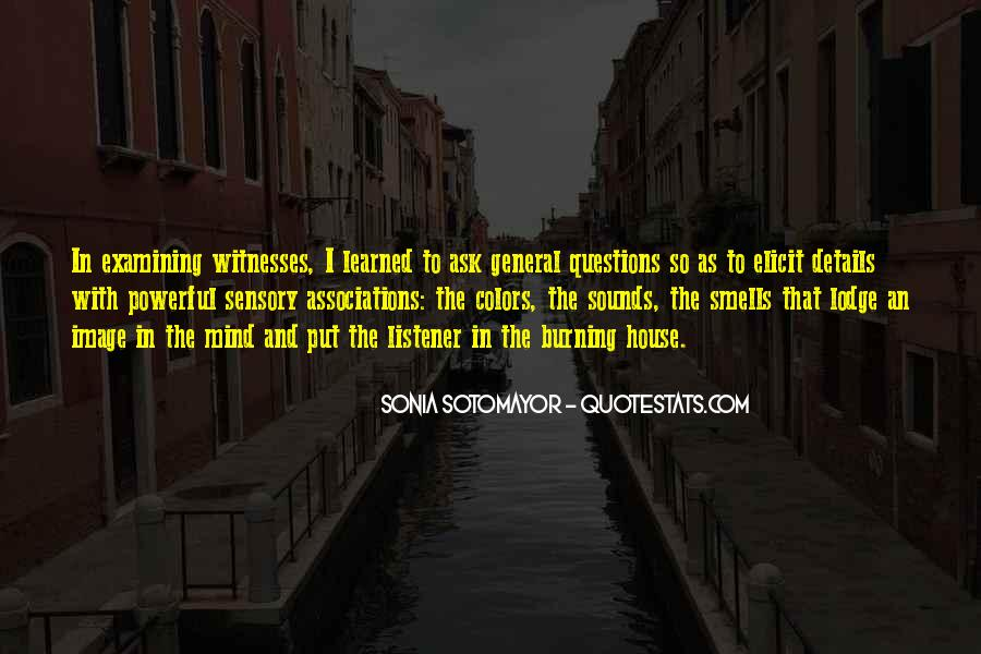 So Many Questions In My Mind Quotes #173057