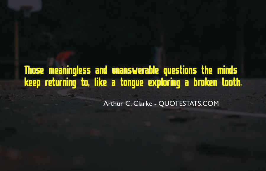So Many Questions In My Mind Quotes #287549