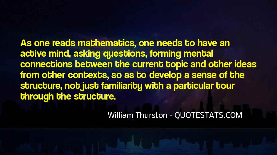 So Many Questions In My Mind Quotes #320795