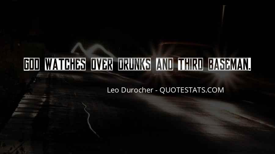 Quotes About Leo Durocher #1133309