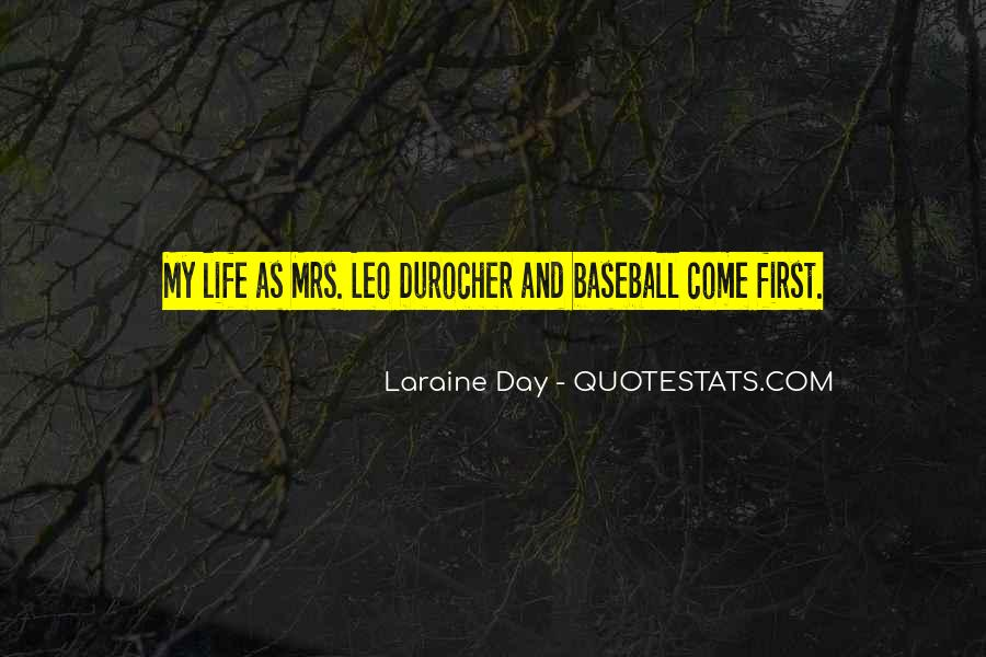 Quotes About Leo Durocher #1136028