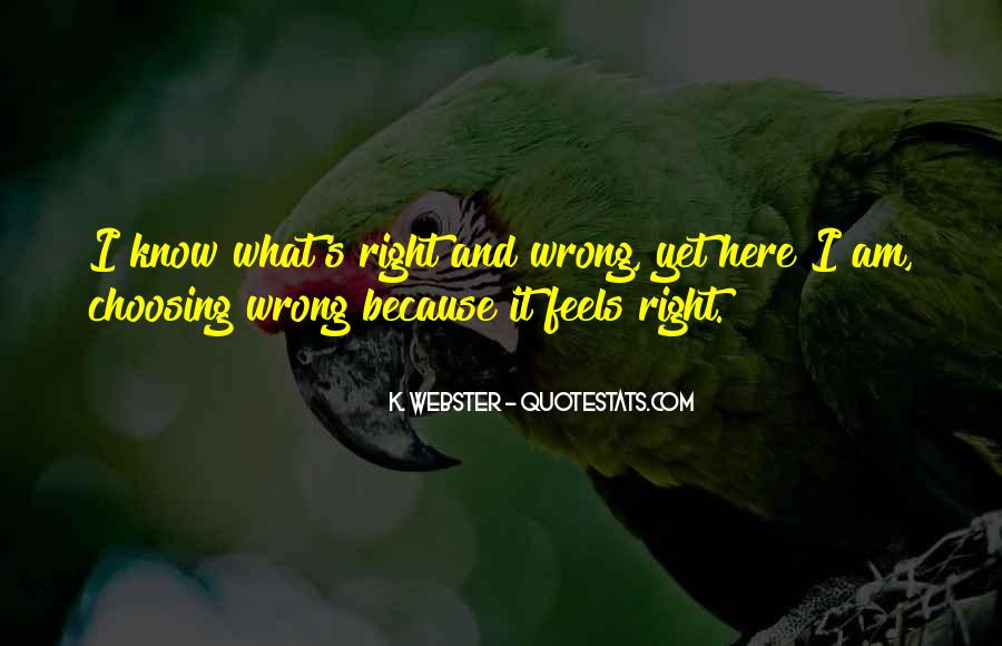 So Wrong But It Feels So Right Quotes #295638