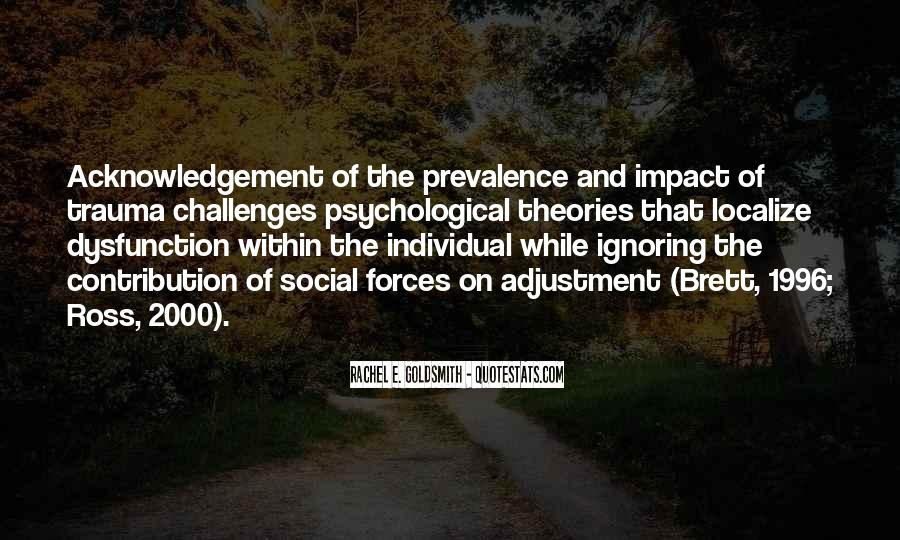 Social Impact Quotes #1008137